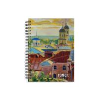 """Блокнот """"Панорама на реку Томь"""""""
