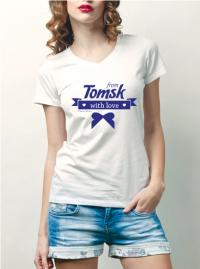 Футболка from Tomsk with love