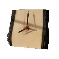 Часы настольные из древесины кедра