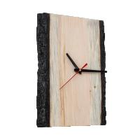 Часы настенные из древесины кедра