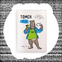 """Обложка на паспорт  """"Мишка Томми. Селфи"""""""