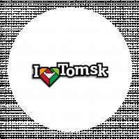 """Магнит """"I love Tomsk"""""""