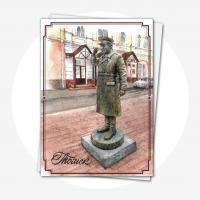 """Открытка """"Памятник дяде Коле"""""""